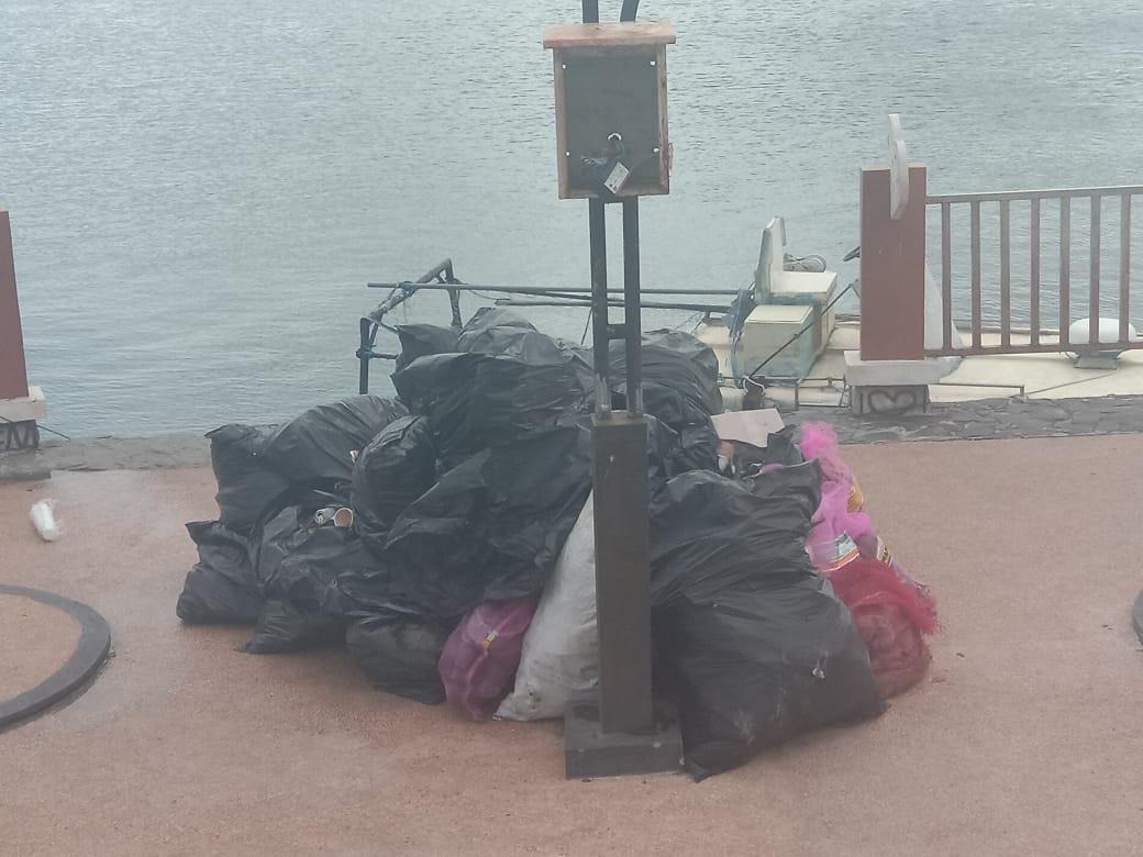 sampah laut kei