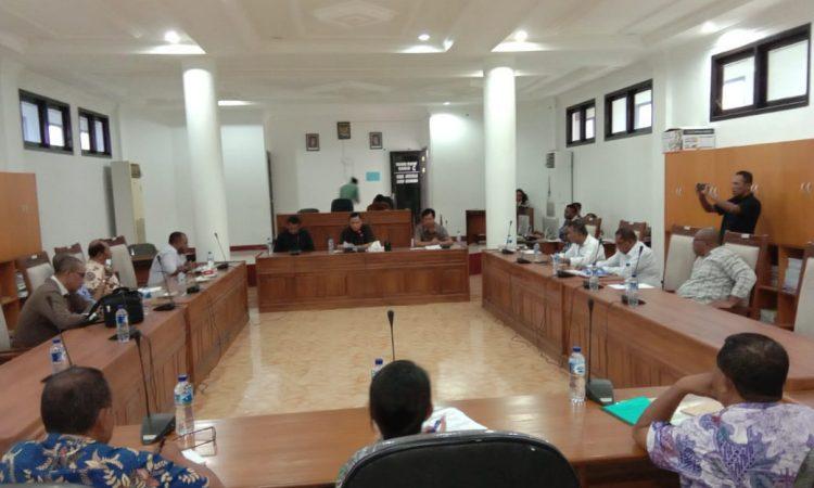rapat gabungan komisi B & C bersama Dinkes Malrara