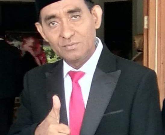 Sekretaris Daerah ( Sekda ) Kota Tual, A. Yani Renuat