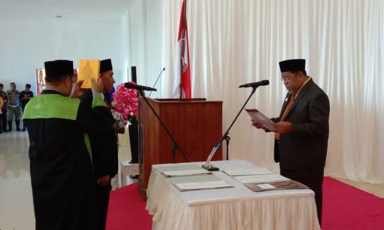 Walikota Tual melantik Sekda Kota Tual