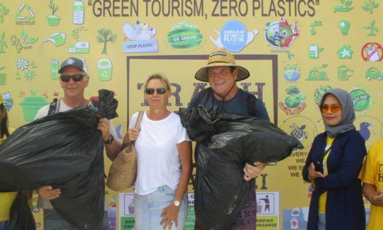 Para yacht Belanda, Jerman& AS pengumpul sampah plastik terbanyak di Kei