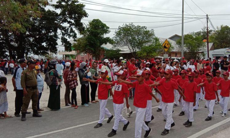 Gerak Jalan Indah HUT RI ke 74 Malra