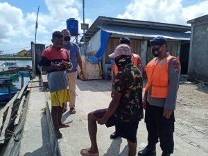Brimob Maluku patroli bencana, himbau warga ikut protokol kesehatan
