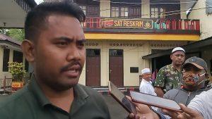 Keterangan Pers PH Rahayaan di Sat Reskrim Polres Malra