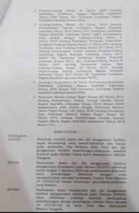 surat bersama Bupati Malra dan Walikota Tual buka akses Bandara dan pelabuhan tual 2