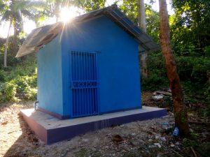 Ini rumah mesin air proyek irigasi Desa Ngadi