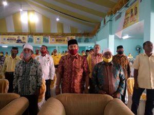 Para sesepuh Partai Gokkar Kota Tual yang hadir di Musda III Partai Golkar
