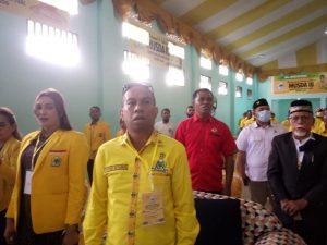 Perwakilan DPD Golkar Maluku yang hadir di Musda III Partai Golkar Kota Tual