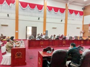 RDP bersama Komisi II DPRD Kota Tual, Dinkes, RSUD Maren da n KAMMI