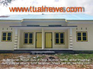 Ini Bangunan rumah Guru di Desa Tayando Yamtel, Kota Tual
