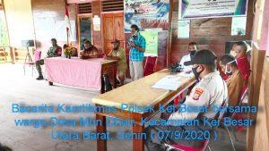 Kegiatan Bacarita Kamtibmas Polsek Kei Besar di Desa Mun Ohoir