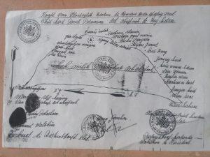 Dokumen hak kepemilikan Raja Ub Ohoi Faak