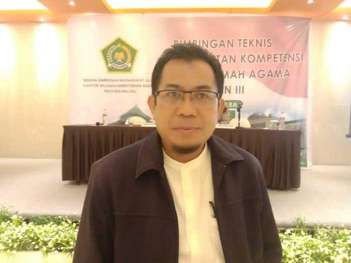 Kasi Penerangan Agama Islam, Kanwil Kemenag Provinsi Maluku, H. Hijerin Allah, S.Ag