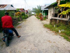 ini suasana didalam kampung Tayando Yamtel