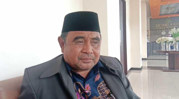 Ketua Forum Kerukunan Antar Umat Beragama ( FKUB ) Kabupaten Maluku Tenggara, Drs H. M. Arifin Difinubun, S.Sos