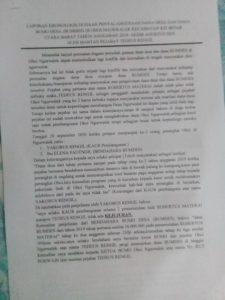 laporan korupsi dana desa Ngurwalek, Kei Besar