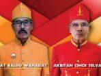 Raja Dulah, Bayan Renuat dan Kapitan Ohoitel Vav, yang mengukuhkan diri secara Adat Kei Sabtu ( 28/11/2020 )