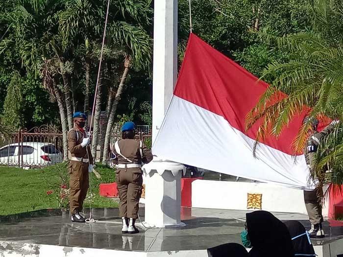 Pemerintah Kota Tual dalam memperingati Hari Pahlawan 10 November 2020