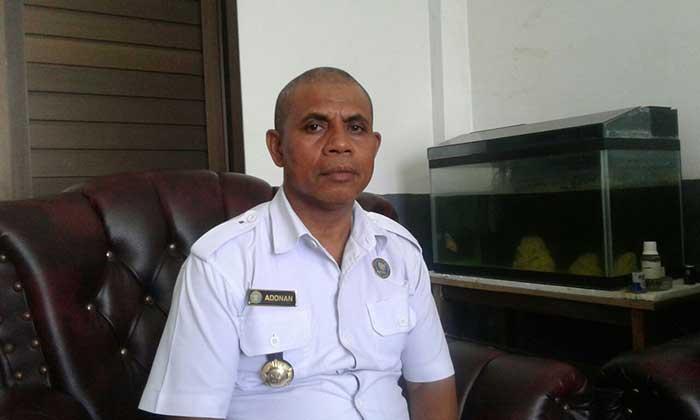 Kepala Badan Badan Narkotika Nasional ( BNN ) Kota Tual, Adnan Tamher