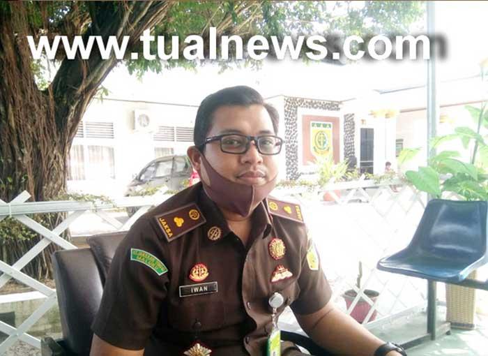 Kasi Intelejen Kejaksaan Negeri Tual, Iwan kepada tualnews.com