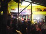 Warga Kota Tual, senin malam (14/12/2020 ), Pukul 21.30 WIT, tersentak kaget dengan kebakaran yang terjadi di Pasar Tingkat Baru Lodarel