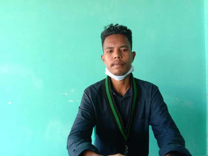 Ketua Bidang Perguruan Tinggi Kemahasiswaan dan Pemuda ( PTKP ),HMI Tual - Malra, Miftahurahman Songjanan
