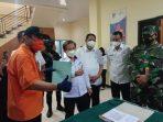 serah terima 920 vaksin sinovac di Kantor Dinkes Kota Tual
