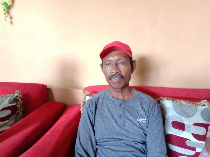 Satgas CBP Desa Tayando Yamru, Amin Banyal, ketika dikonfirmasi tualnews.com, senin ( 08/02/2021 )