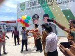 Walikota-Tual-melepaskan-balon-ke-udarah–launching-DAK-Integrasi-Kota-Tual-2021