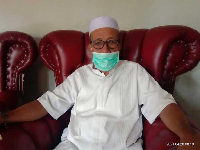 Ketua Majelis Ulama Indonesia ( MUI ) Kota Tual, Hi. Ahmad Kabalmay