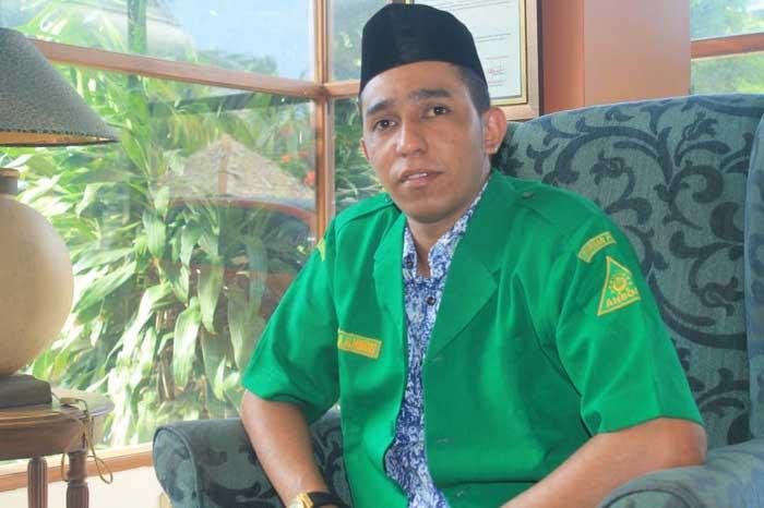 Ketua GP Ansor Kota Tual, Najamul Huda Al Mohdar