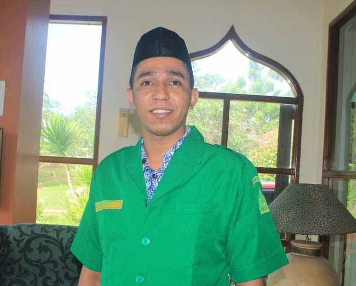 Ketua GP Ansor Kota Tual, Najamul Huda Al Mohdar, ketika menghubungi tualnews.com.